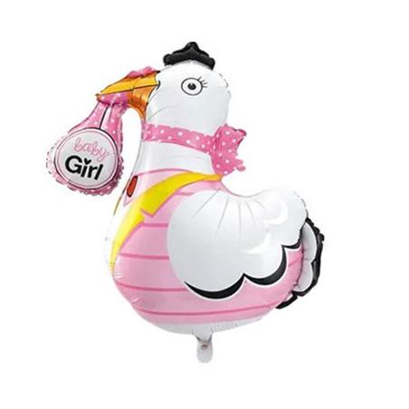 Balon folie figurina barza Fetita