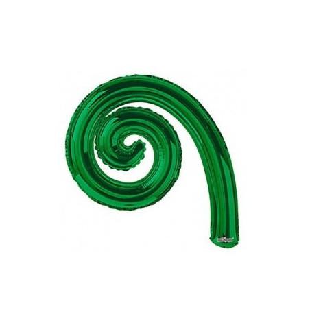Balon folie spirala verde 36 cm