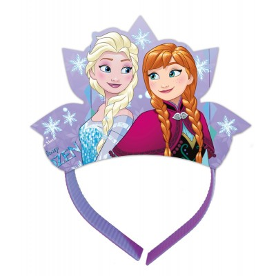 Set 4 tiara Frozen Snowflakes