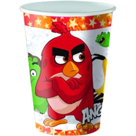 Set 8 pahare party Angry Birds 25 cl