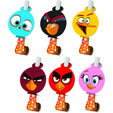 Set 6 spirale party Angry Birds