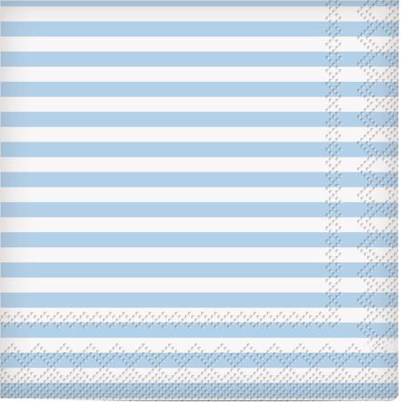 Set 20 servetele party dungulite bleu