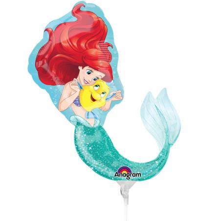 Balon mini figurina Ariel