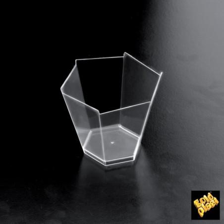 Set 25 cupe transparente gardenia 100 cc