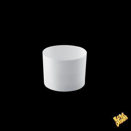Set 15 cupe ZERO albe 60 cc