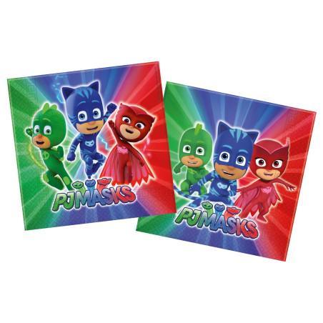 Set 20 servetele party PJ Masks