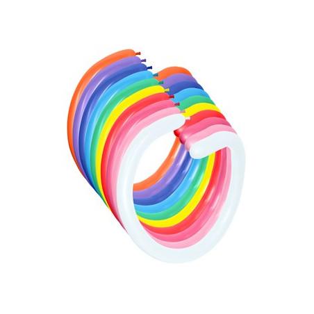 100 baloane modelaj asortate FASHION SOLID