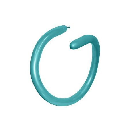 100 baloane modelaj turquoise