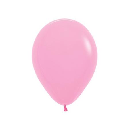 100 baloane 26 cm Roz Bubblegum