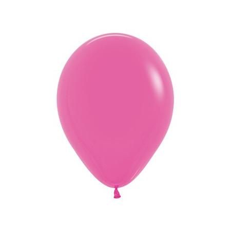 100 baloane 26 cm Fuchsia