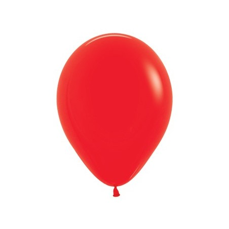 100 baloane 26 cm Rosu