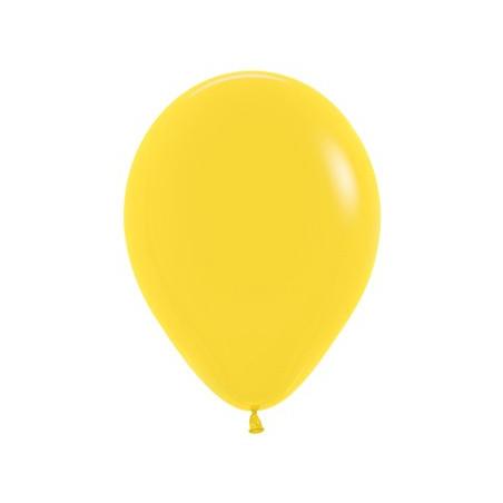100 baloane 26 cm Galben