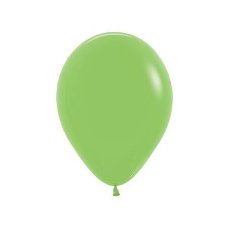 100 baloane 26 cm Verde Lime