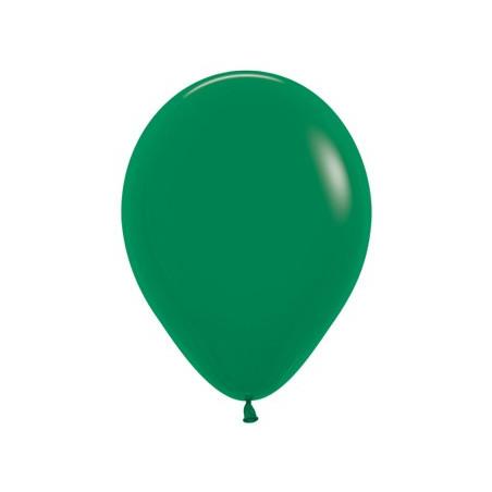 100 baloane 26 cm Verde Inchis
