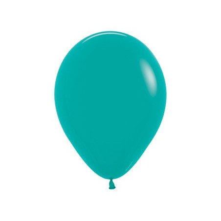 100 baloane 26 cm Verde Turcoaz
