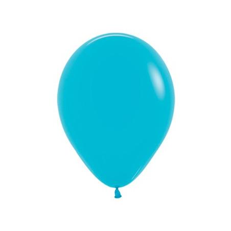 100 baloane 26 cm Albastru Turcoaz