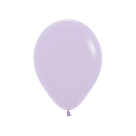 100 baloane 26 cm Pastel Lila