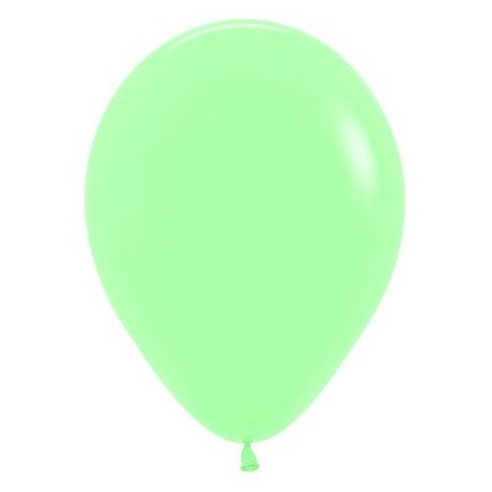 100 baloane 26 cm Pastel Verde