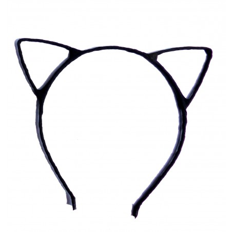 Coronita neagra urechi pisica
