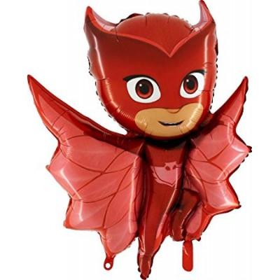Balon folie figurina Owlette - Eroi in Pijamale