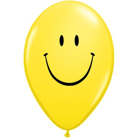 Set 100 baloane inscriptionate Smiley