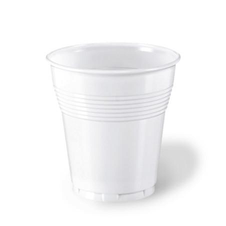 Set 50 pahare albe Aristea 166 cc