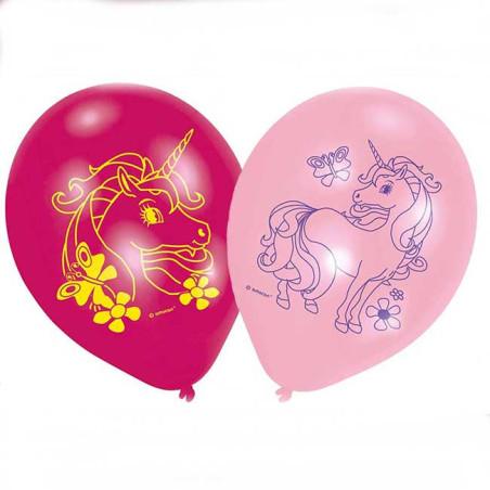 Set 6 baloane party Unicorn