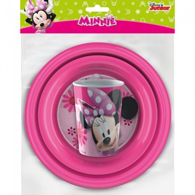 Minnie set 3 piese Meal Time