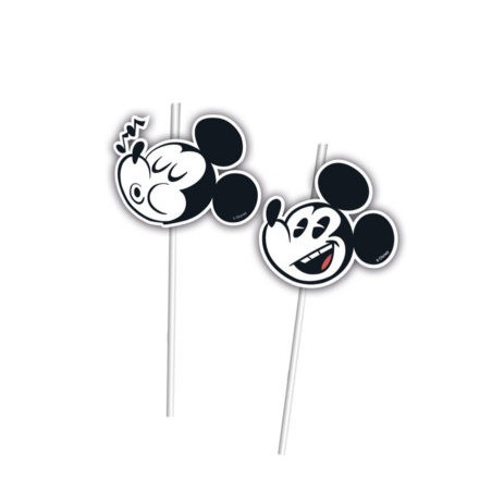 Set 6 paie cu medalion Mickey Super Cool