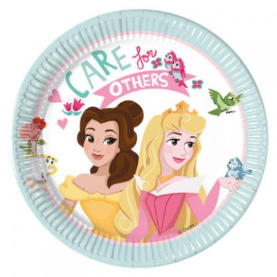 Set 8 farfurii 20 cm Princess Dare to Dream