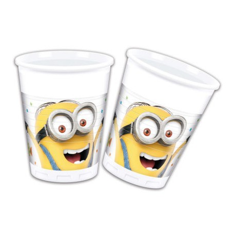 Set 8 pahare party Minions Balloons Party