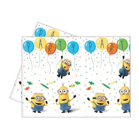 Fata de masa Minions Balloons Party