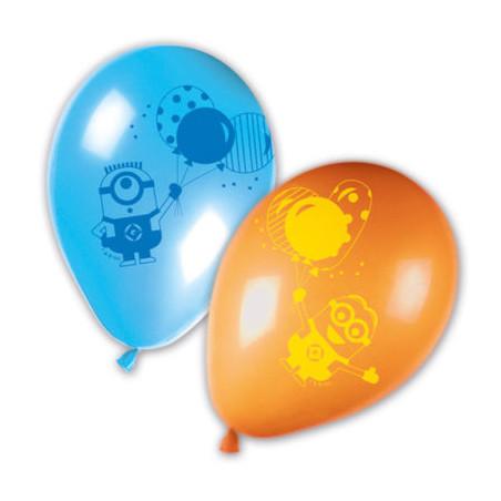 Set 8 baloane Minions Balloons Party