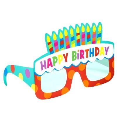 Set 6 ochelari party Happy Birthday