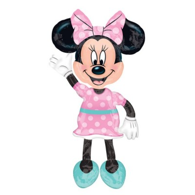 Balon folie Airwalker Minnie Pink