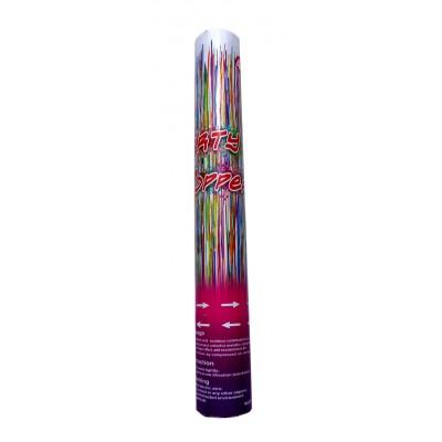 Tun confetti 30 cm serpentine color