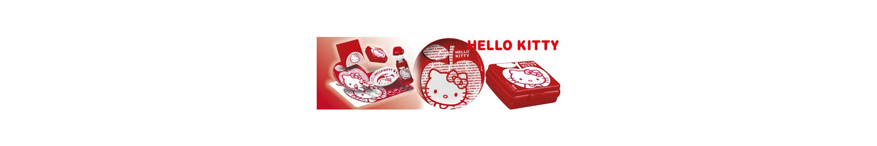Colectia party melamina Hello Kitty Apple