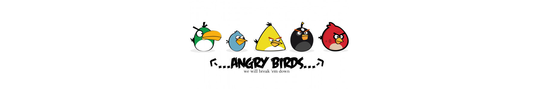 Articole party Angry Birds