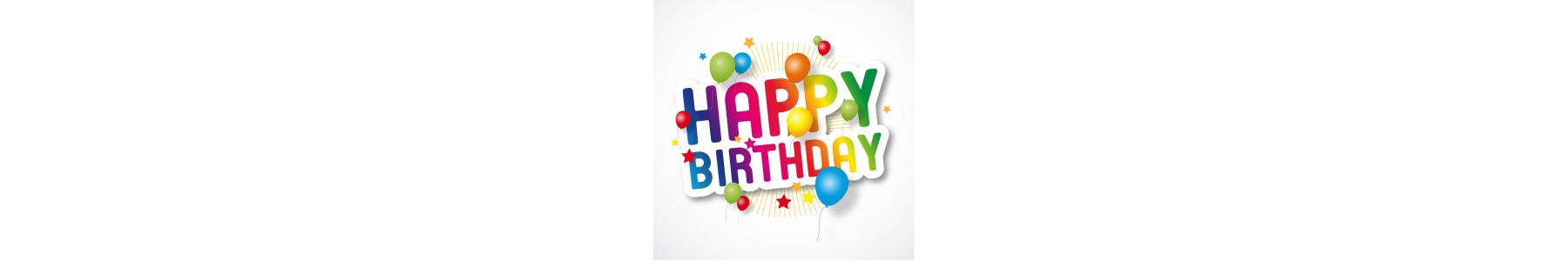 Articole party colectia Happy Birthday