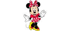Lumanari cifre Minnie