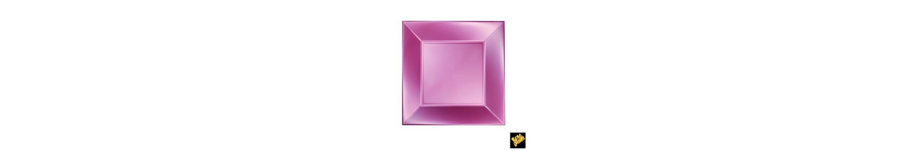Colectia de articole din plastic Premium Roz Perla