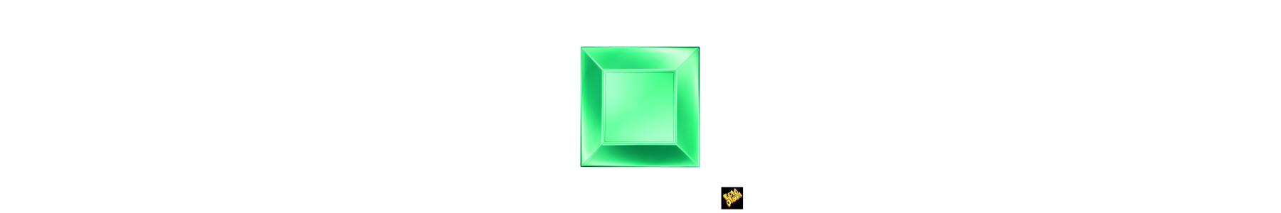 Colectia de articole din plastic PREMIUM Verde Perla