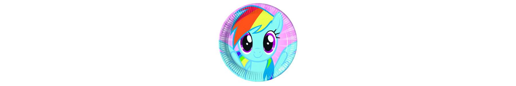 Articole de petrecere Pony Rainbow