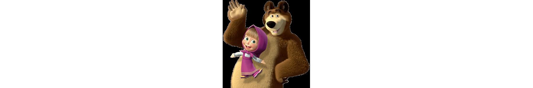 Accesorii de petrecere Masha si Ursul