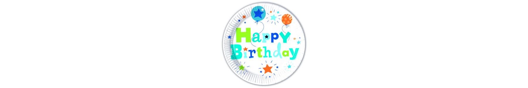 Accesorii de petrecere Happy Birthday Boy