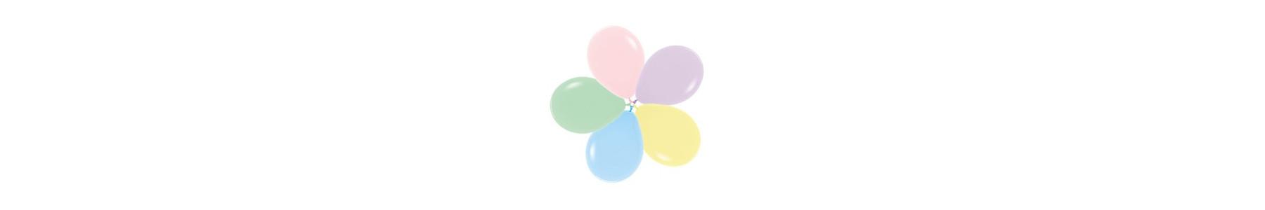 Colectia de baloane rotunde SEMPERTEX Fashion Pastel