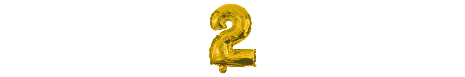 Baloane folie figurine cifre aurii 35 cm