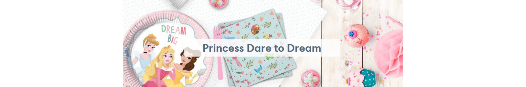 Articole party Princess Dare to Dream