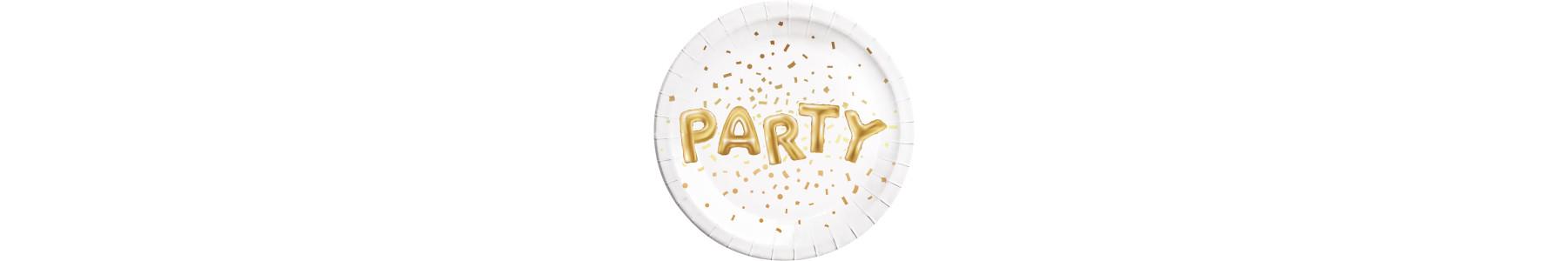 Articole party Gold