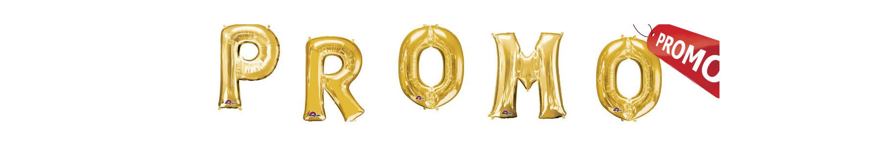 Baloane litere aurii pentru heliu